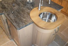Granite inset sinks